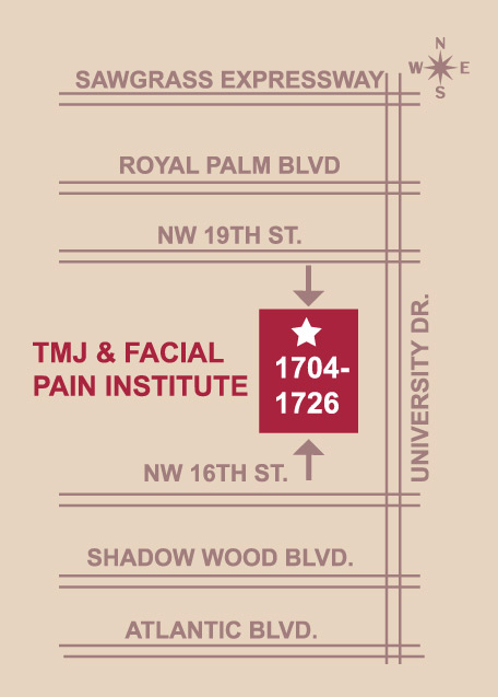 Directions to the TMJ Facial Institute